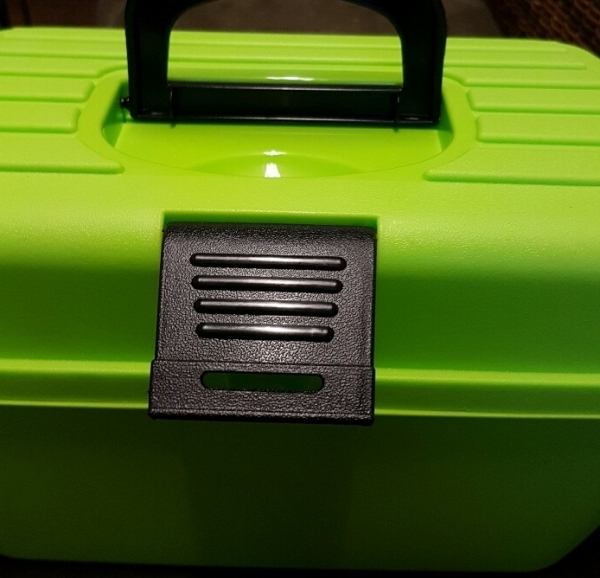 Kunststoff Aufbewahrungsbox, apfelgrün, für Allerlei, z.B. Aufbewahrung Haarspangen, Ausstellungsutensilien