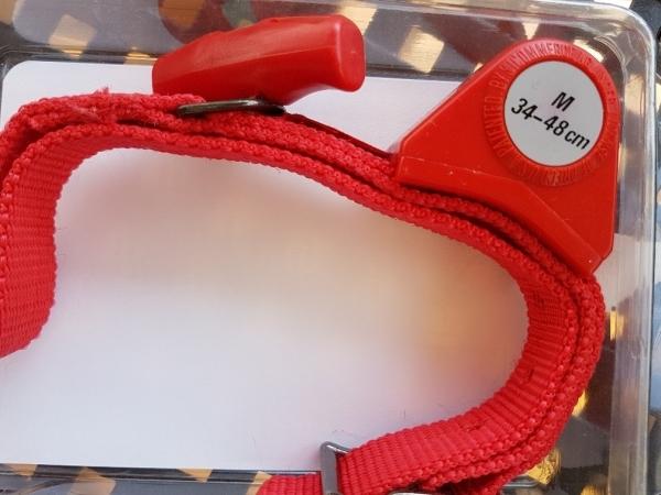 Dog'si Halsband mit integierter Flex-Leine, Größe M - L