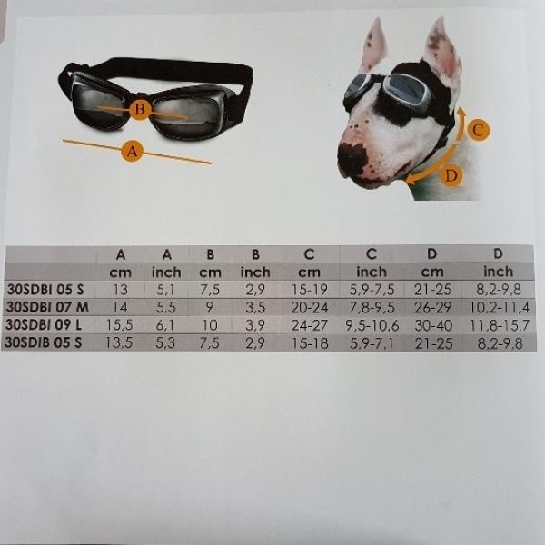 Sonnenbrille Größe S